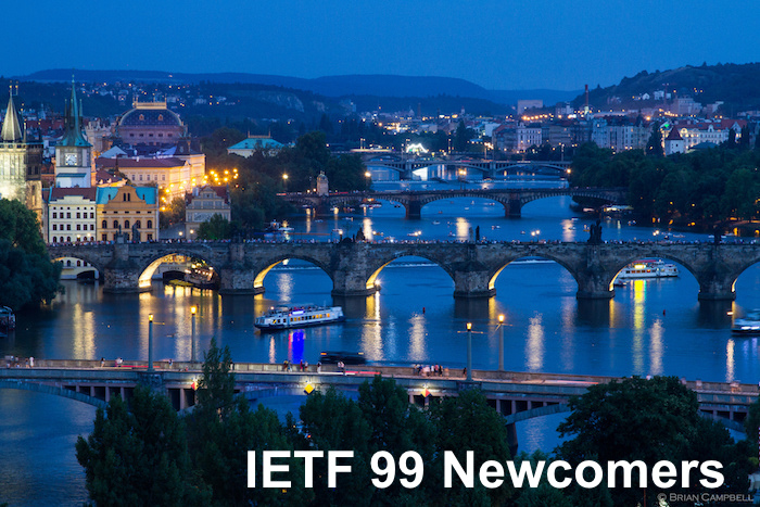 IETF 99 for Newcomers